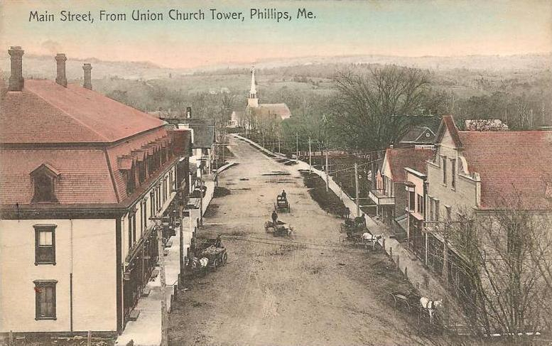 Phillips Carpenter Ant Extermination - old photo of phillips, maine from wiki commons